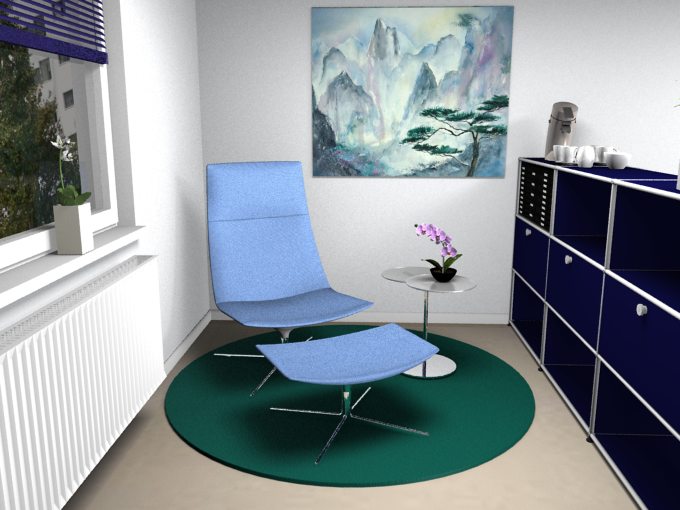 farben f r ihr homeoffice the perfect office. Black Bedroom Furniture Sets. Home Design Ideas